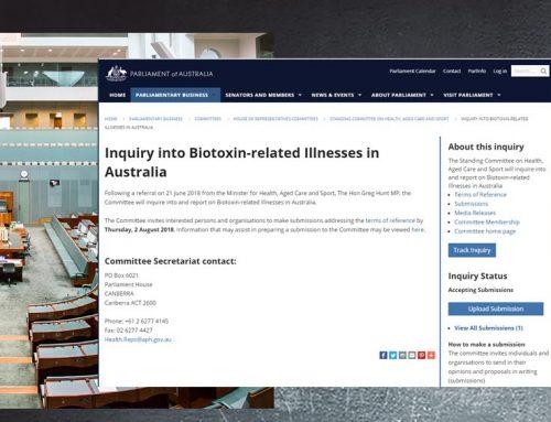 Australian parliamentary inquiry into biotoxin-related Illness – FAQ